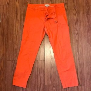 Gap orange crop pants